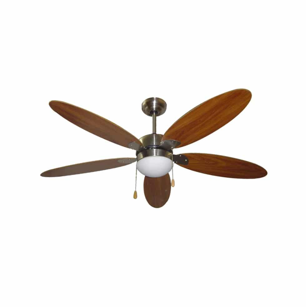 Ceiling Fan 42 Quot Wooden Blade Fa42 312ab Bt Commercial Malta