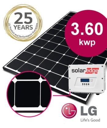 LG Solar Neon 3.60 kwp